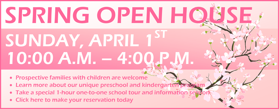 KPIS INTERNATIONAL PRESCHOOL TOKYO SPRING OPEN HOUSE