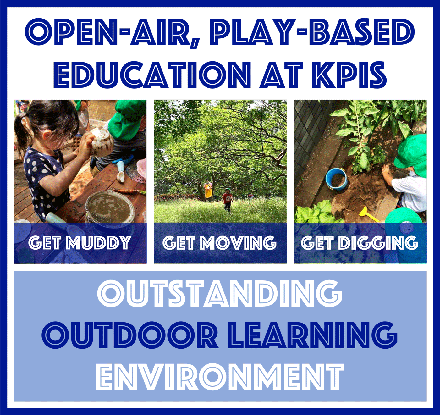 Komazawa park international school | OUTDOOR LEARNING